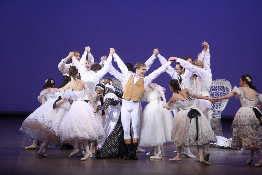 балет Дама с камелиями постановка ноймайера