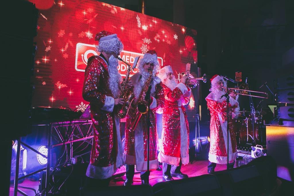 Новогодний корпоратив Comedy Club в москве