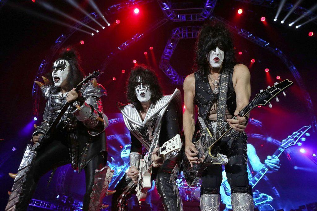 концерт KISS в Москве