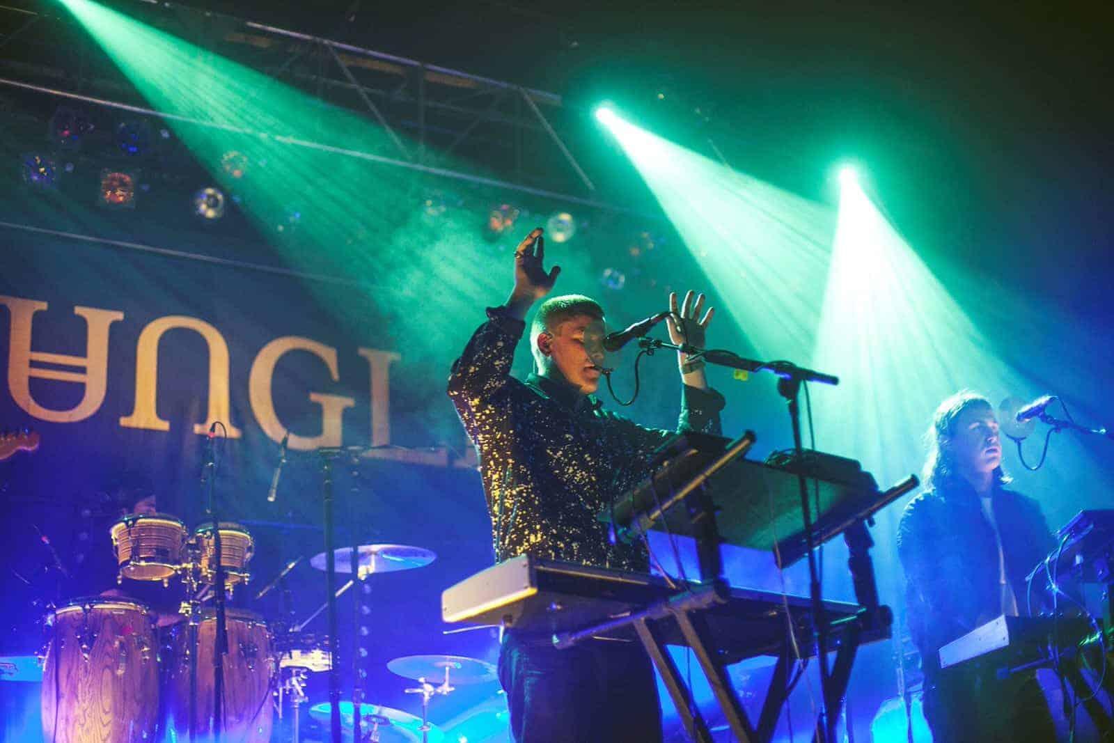 Концерт Jungle в Москве в ГЛАВCLUB GREEN