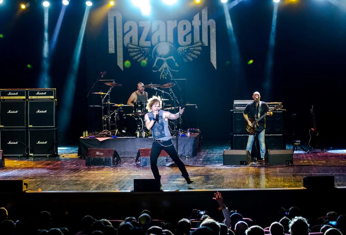 Концерт Nazareth в крокус сити холле