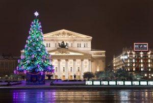 Автобусная экскурсия по Москве «Новогодняя карусель»с декабря 2018 до января 2019