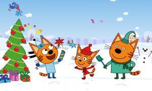 новогоднее шоу Три кота: Новогодние подарки
