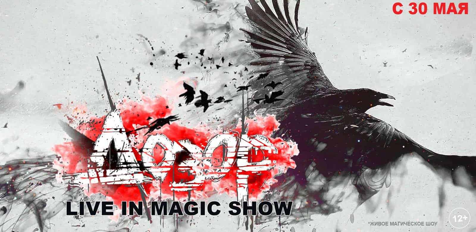 Шоу «Дозор. Live in magic show» в Москве