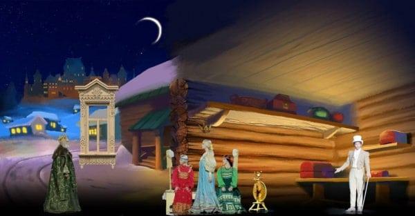 Голографический спектакль с П. Деревянко «Сказка о Царе Салтане» премьера в москве с 27 декабря
