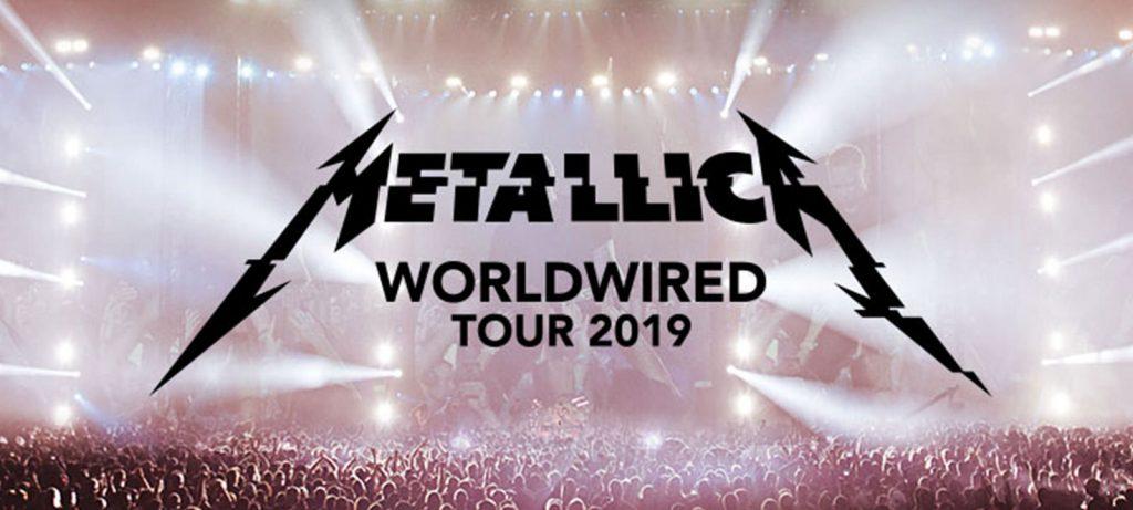 Metallica. Worldwired Tour 2019