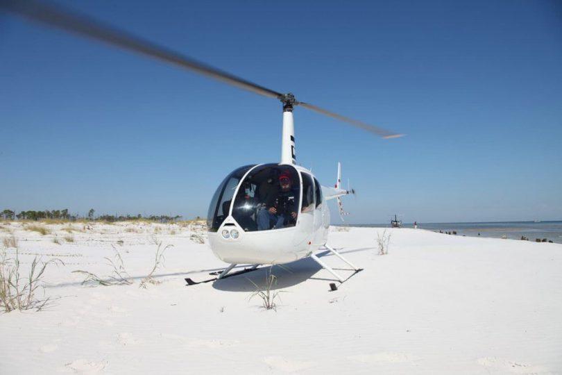 Полет на вертолете «АэроБэйс»