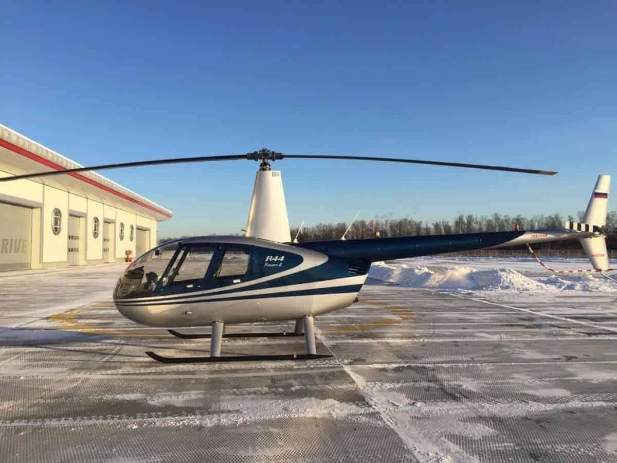Полет на вертолете от компании «АэроБэйс» купон