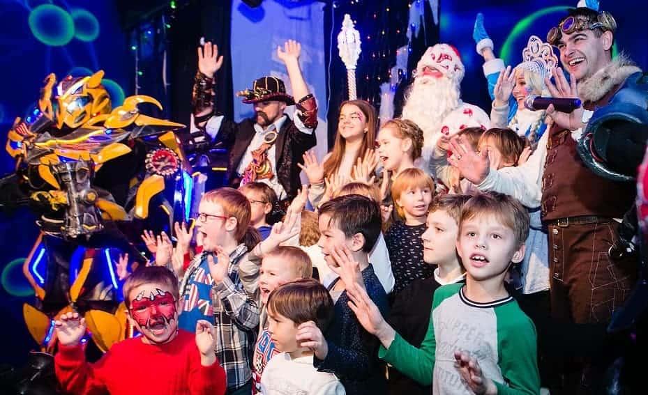 Кибер-Ёлка «Тайна посоха Деда Мороза» в Москве