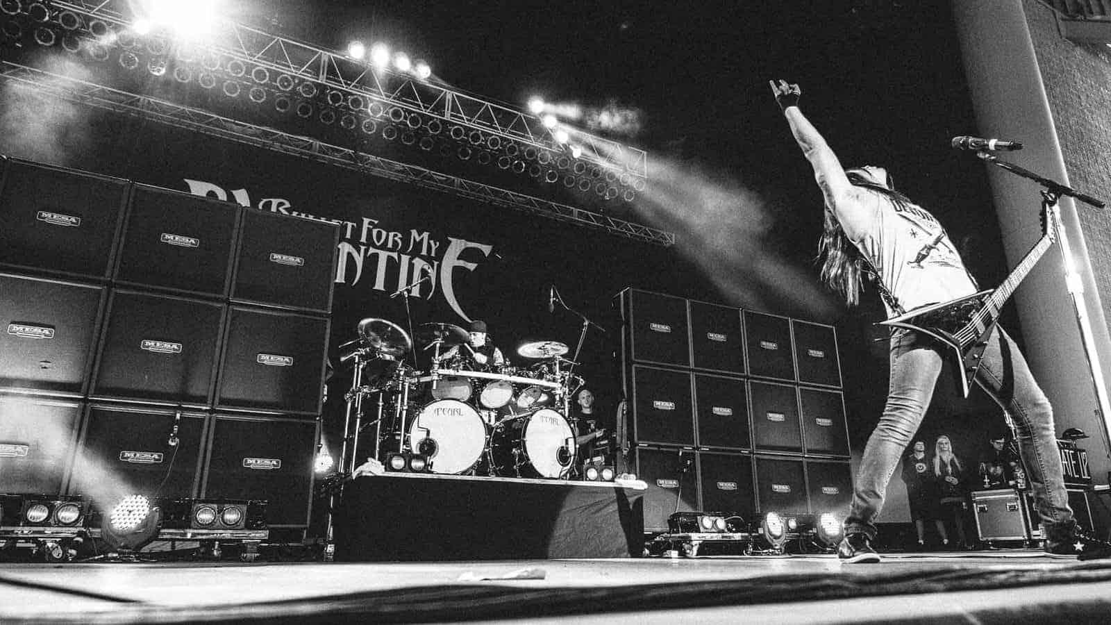 Концерт «Bullet For My Valentine» в Adrenaline Stadium