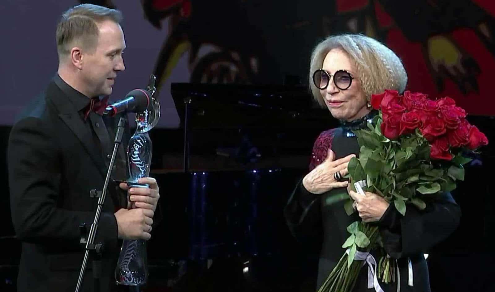 Бал «Хрустальная Турандот» в честь Инны Чуриковой в Москве