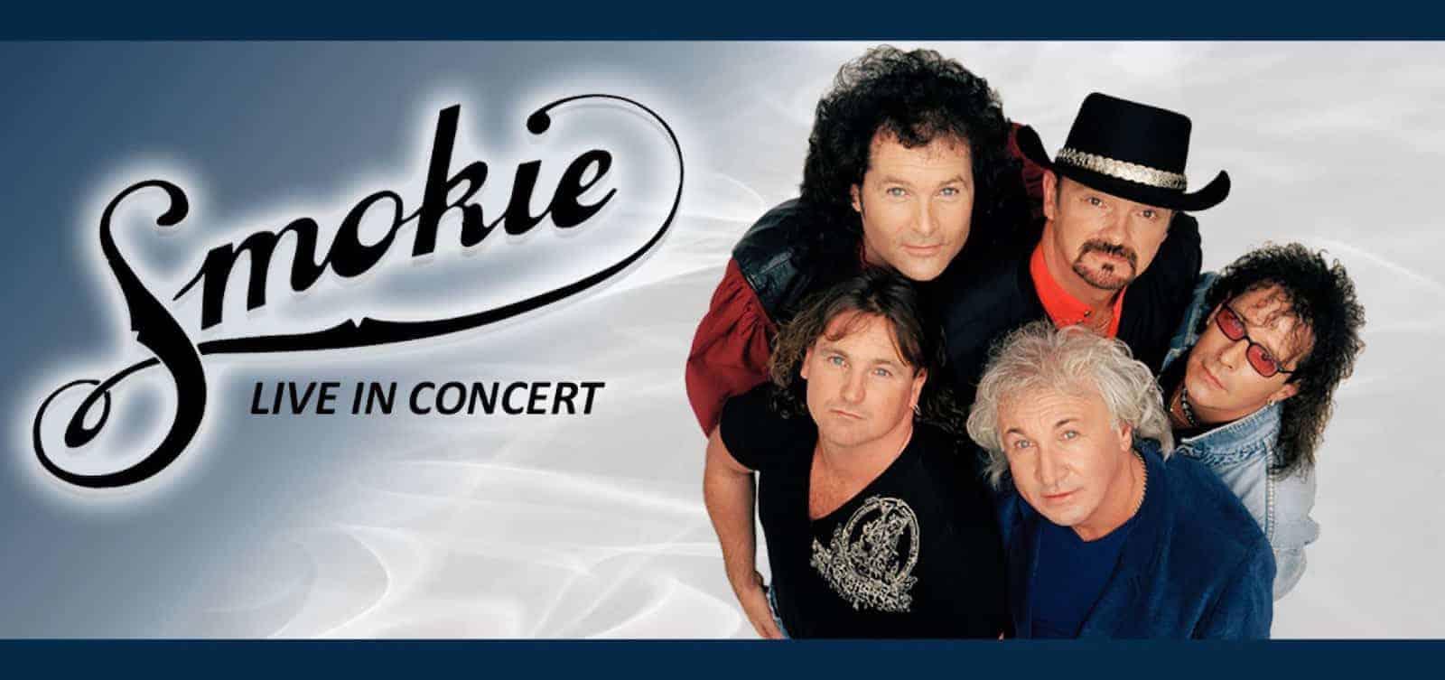 Концерт «Smokie» в Крокус Сити Холле