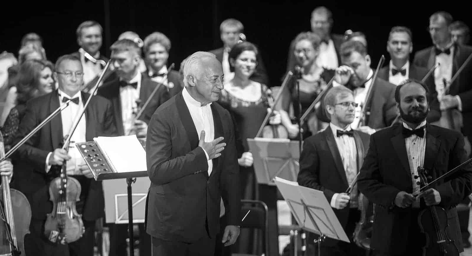 Концерт Мишеля Плассона (Michel Plasson) в Москве Спиваков НФОР