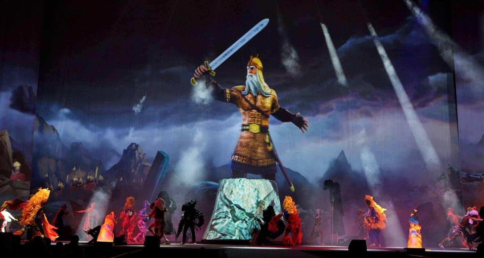 Мюзикл 3D-mapping шоу «Черномор» в Москве 31 марта и 18 мая