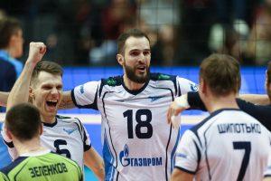 ВК «Зенит» — ВК «Любляна» волейбол лига чемпионов