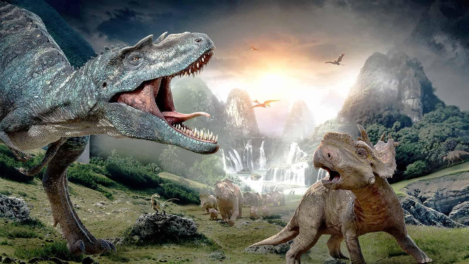Шоу «Прогулки с динозаврами» в Москве