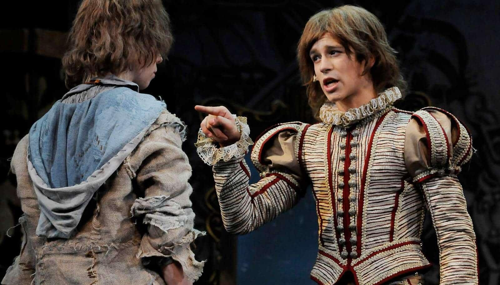 Спектакль «Принц инищий» в театриуме на серпуховке
