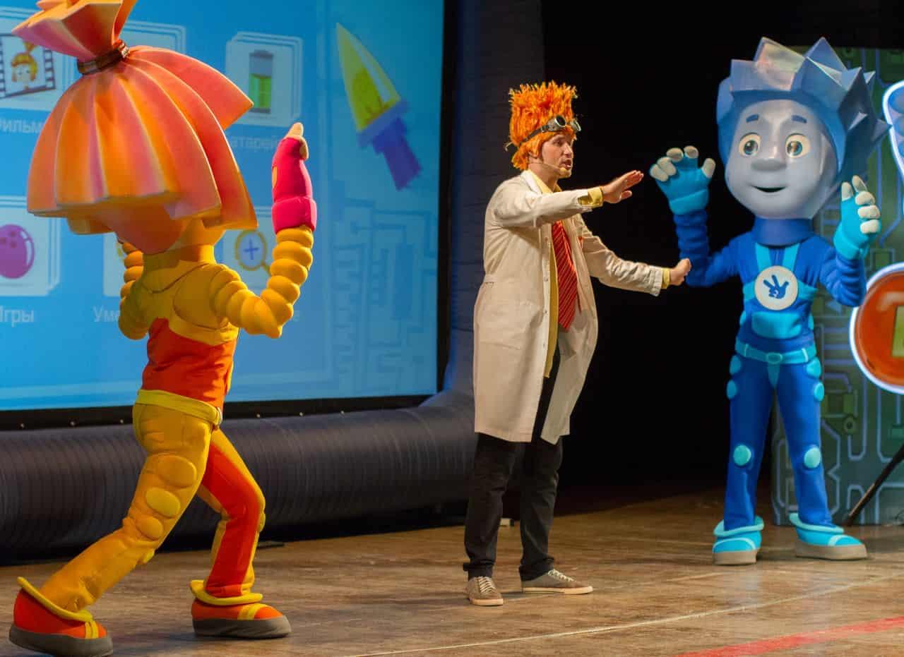 Шоу «Фикс-шоу: Фиксики играют в цирк» в конгресс центре Плеханова