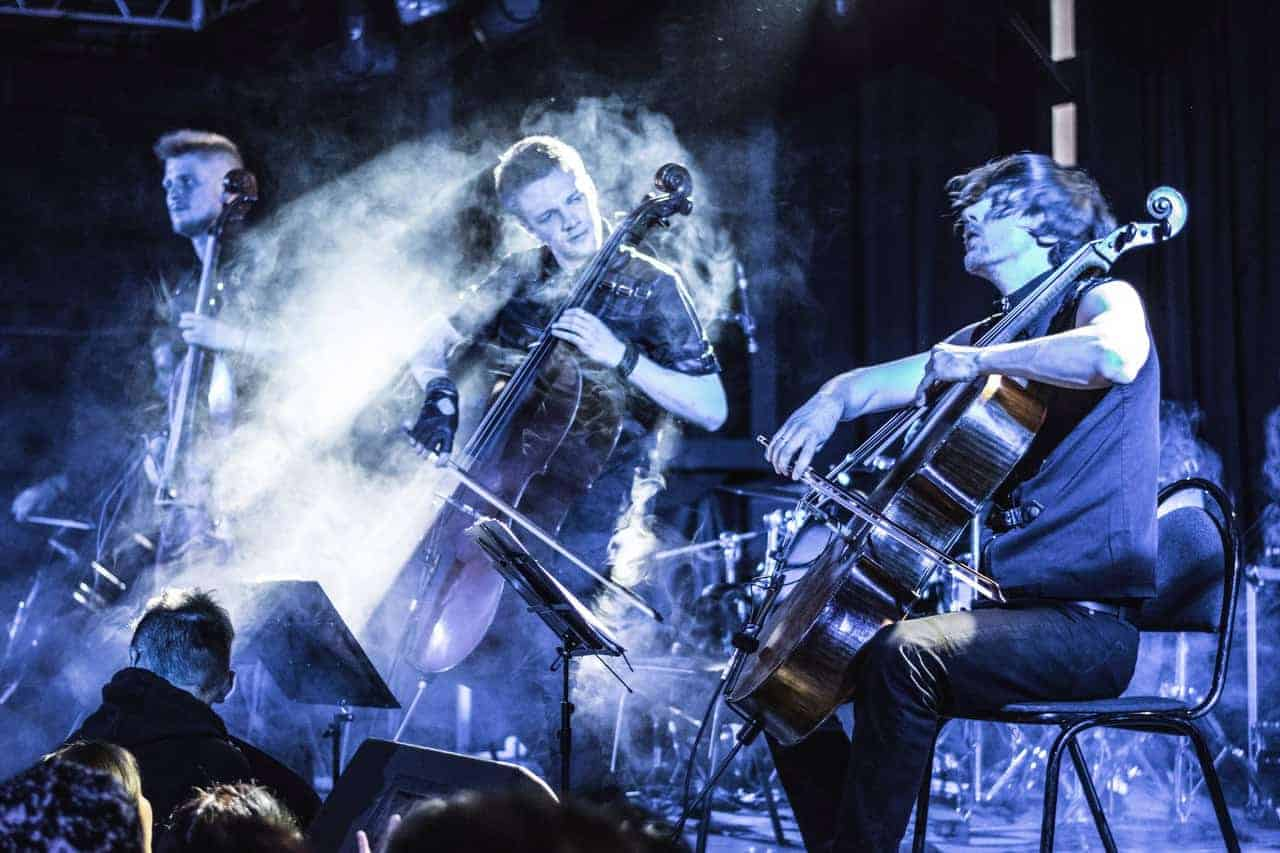 Концерт RockCellos.Мировые рок-хиты на виолончелях