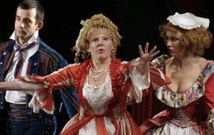 Спектакль «Безумный день, или Женитьба Фигаро» в Ленкоме в 2019 году