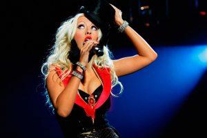 Концерт Кристины Агилеры в Москве Christina Aguilera