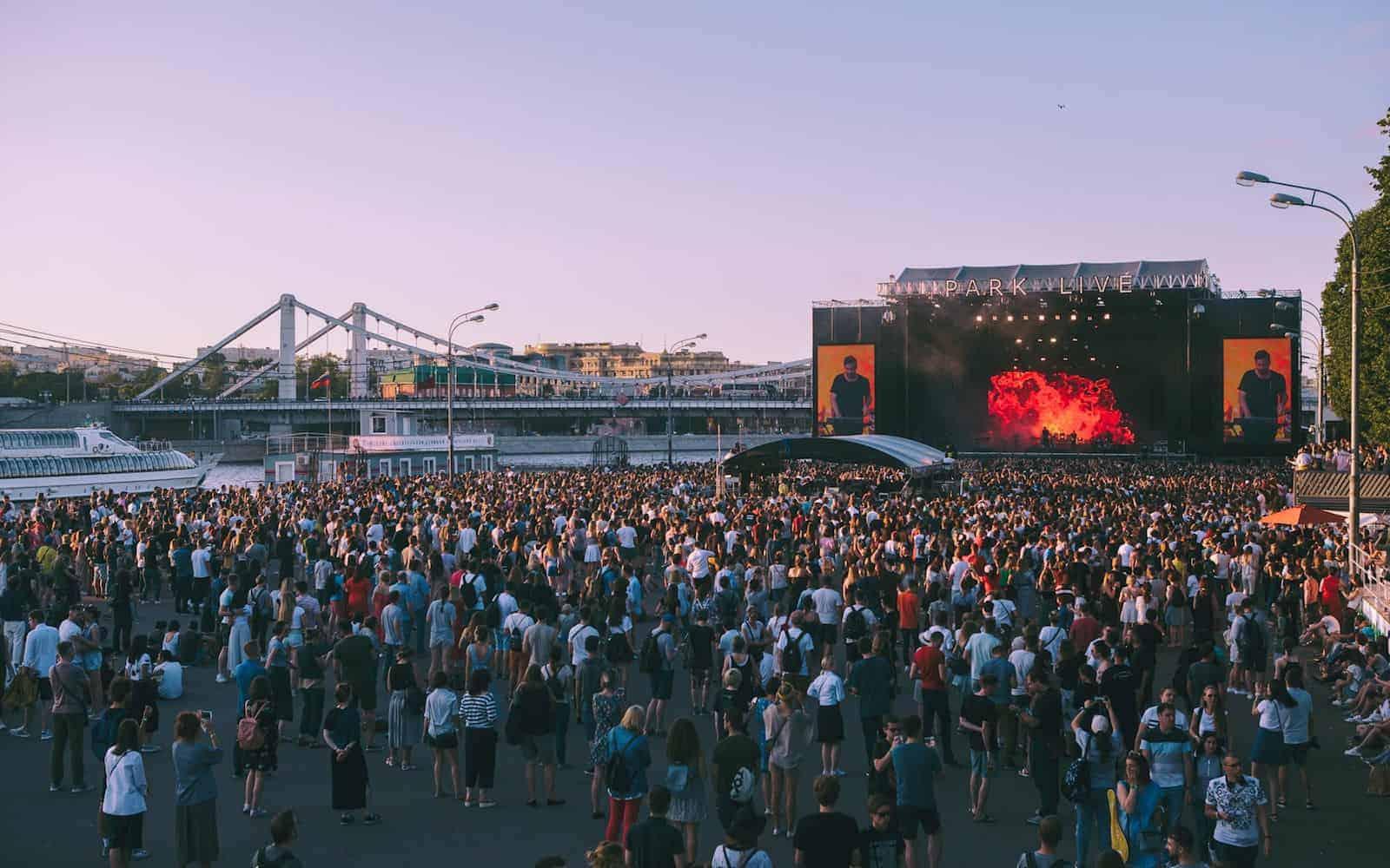 Фестиваль Park Live 2019 в Москве
