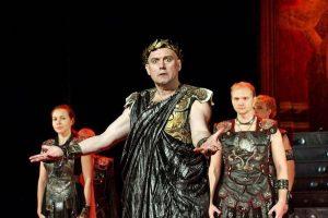 Спектакль «Римская комедия» в Москве