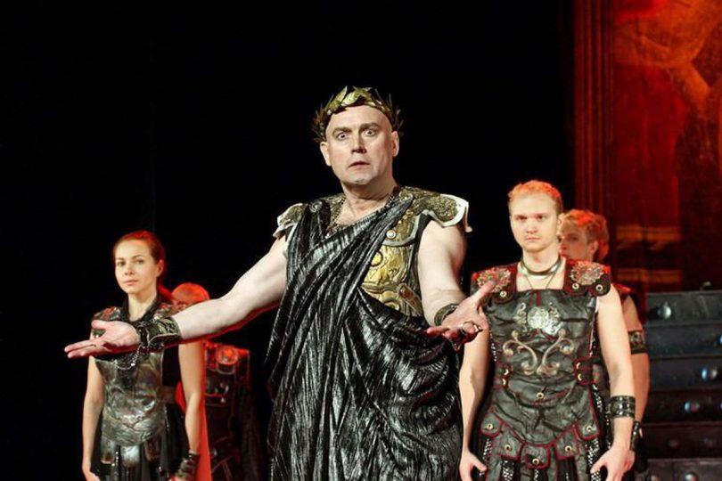Спектакль «Римская комедия»