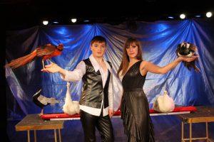 Спектакль Шоу птиц в театре иллюзий