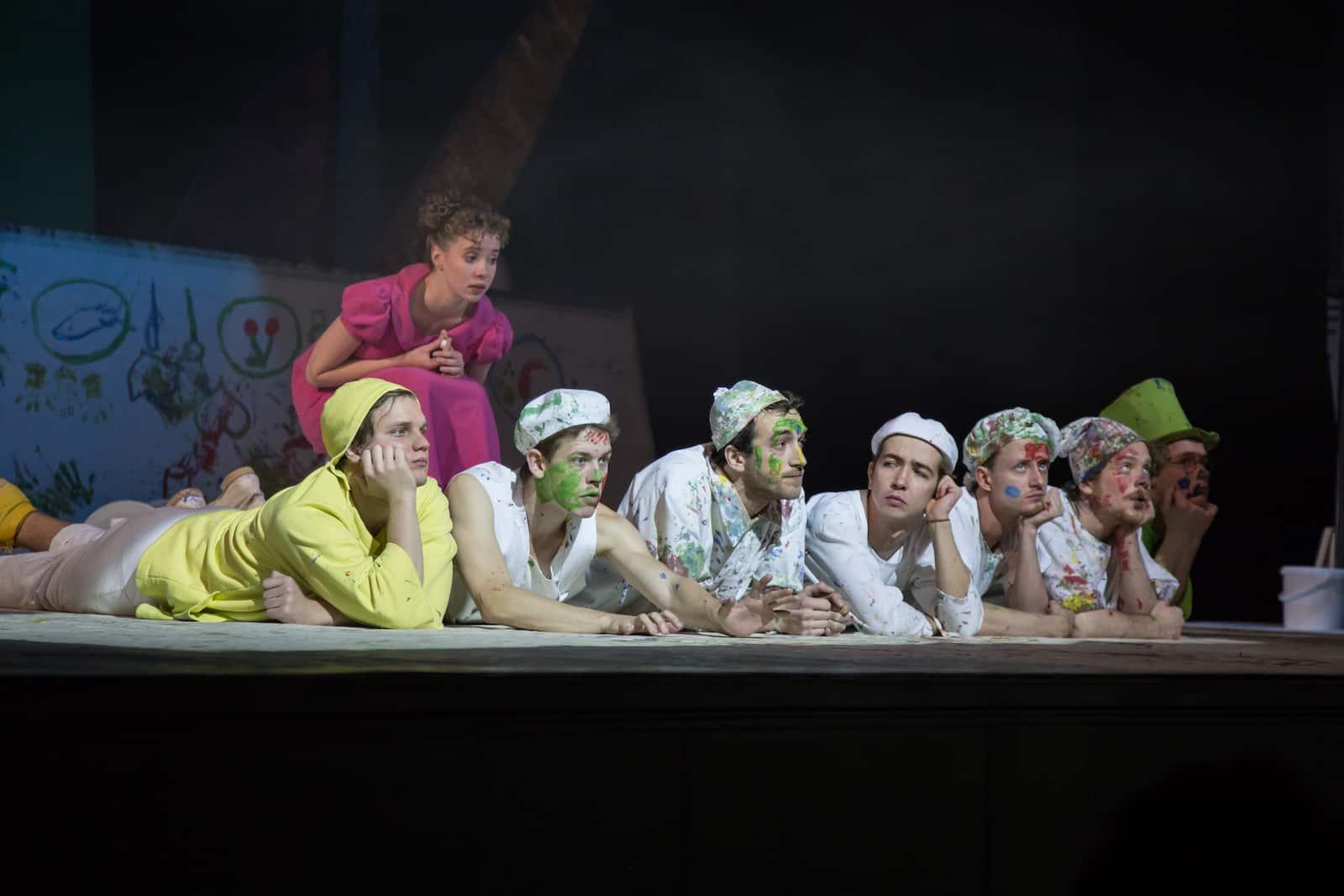 Спектакль «Питер Пэн» в теарте им. Вахтангова
