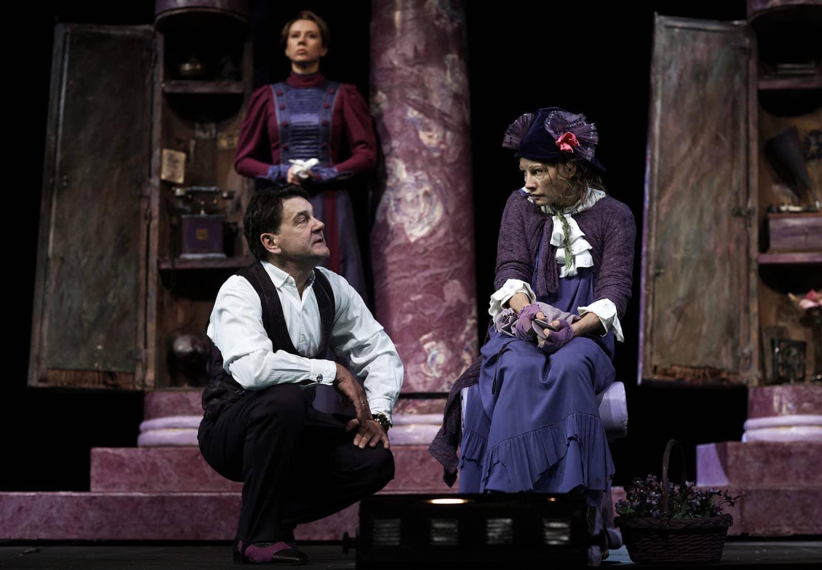 Спектакль «Пигмалион» в театре «Современнике» в Москве