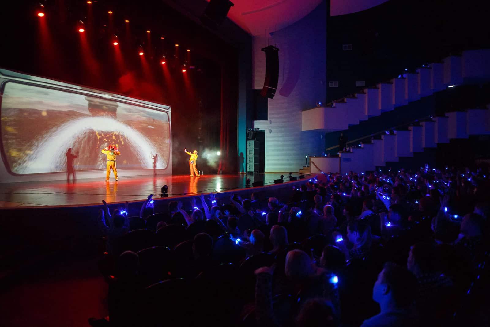 Шоу «МультиЗавры» в Москве в 2019 году