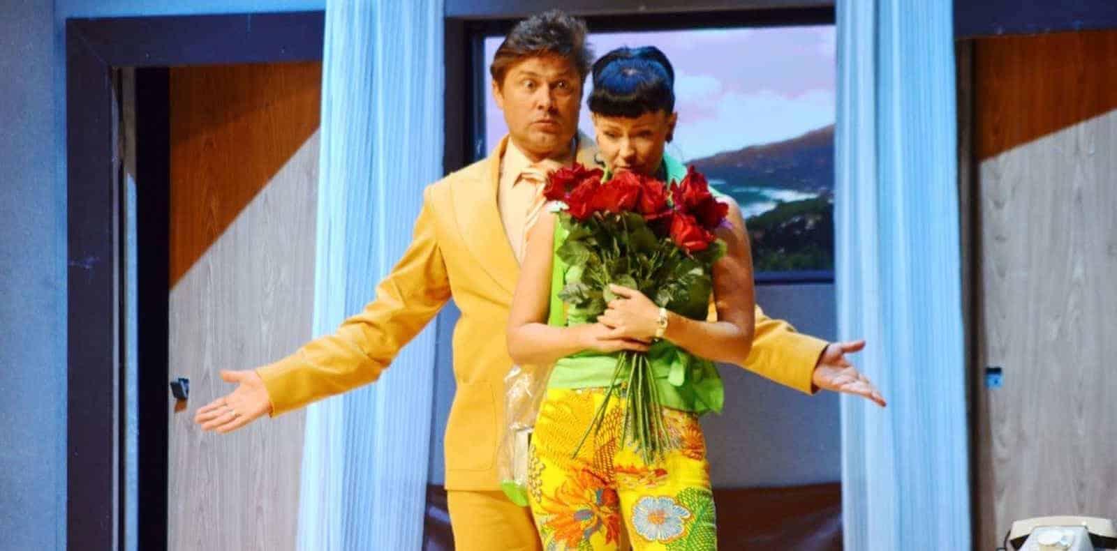 Спектакль «На высоких каблуках» в театре Русская песня и театриуме на серпуховке