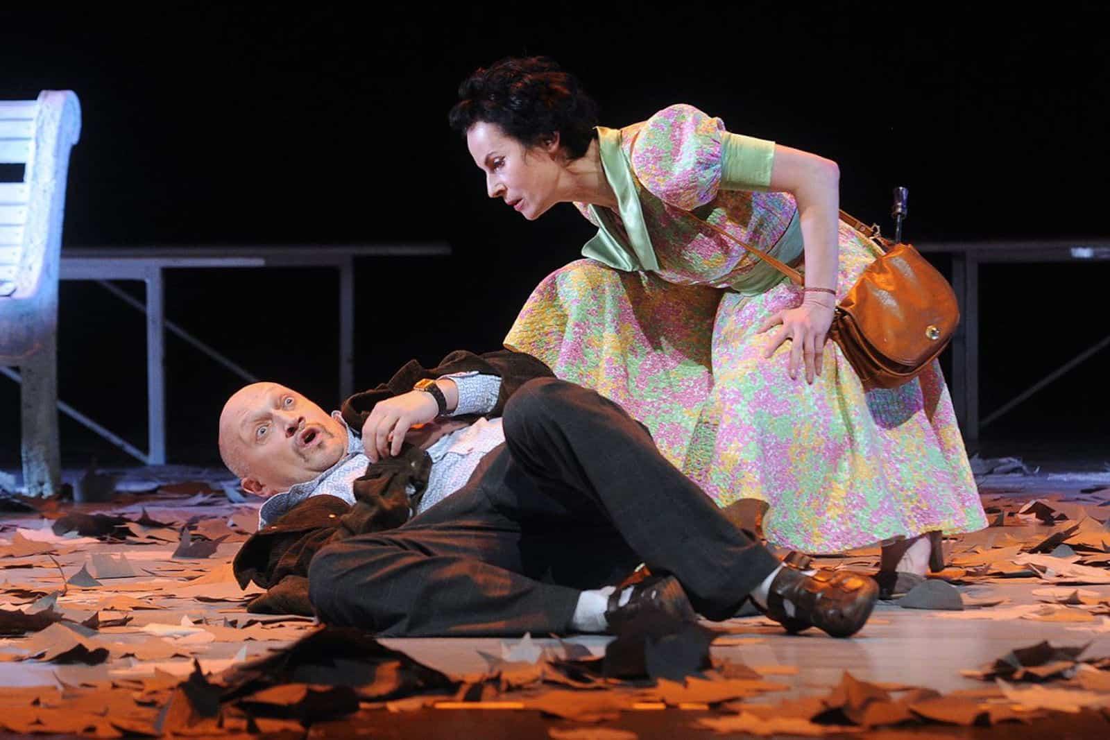Спектакль «Скамейка» в театриуме на серпуховке