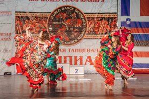 XVI Всемирная танцевальная Олимпиада в Москве в 2019 году
