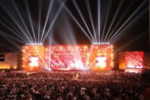 Международный фестиваль «ЖАРА» в Дубае