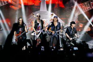 Концерт Scorpions в Москве в 2019 году