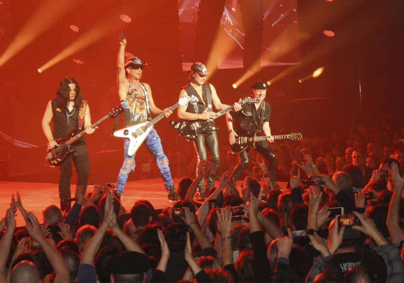 Концерт Scorpions в ВТБ арене