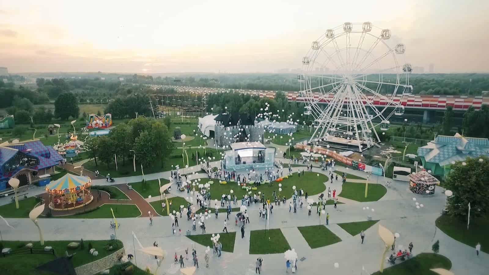 Билет на посещение «Динопарка» и «Ice-парка» в семейном парке Skazka