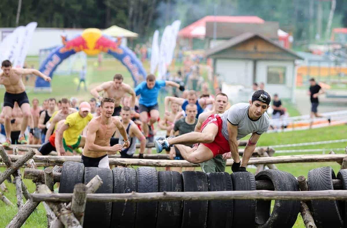 Гонка с препятствиями Moscow RACE