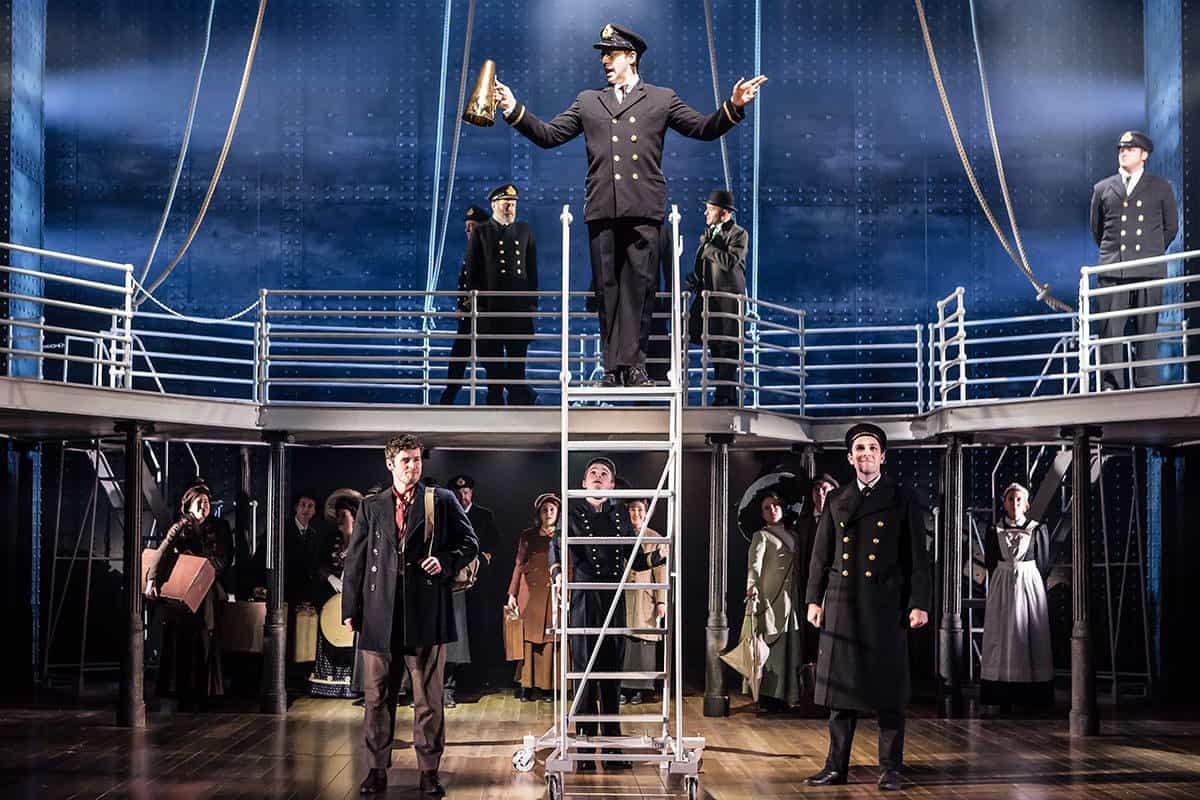 Мюзикл «Титаник (Titanic)» в Московском Дворце Молодежи