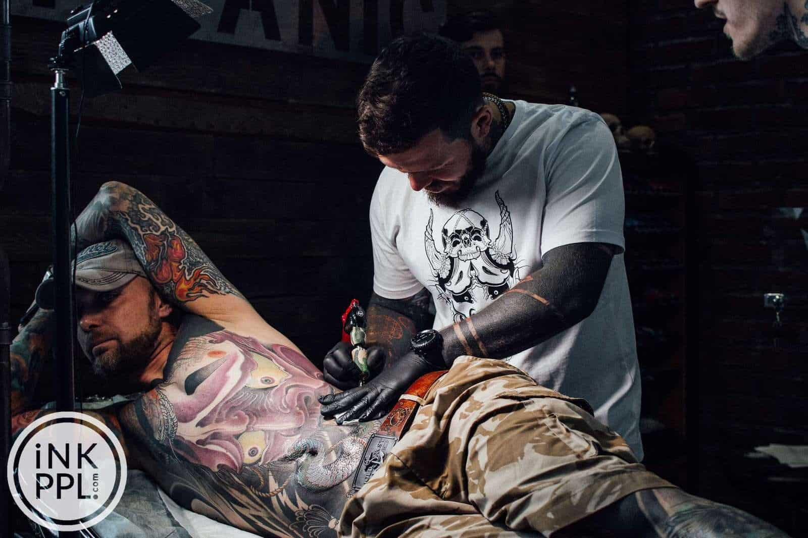 Тату-фестиваль Russian Tattoo Expo