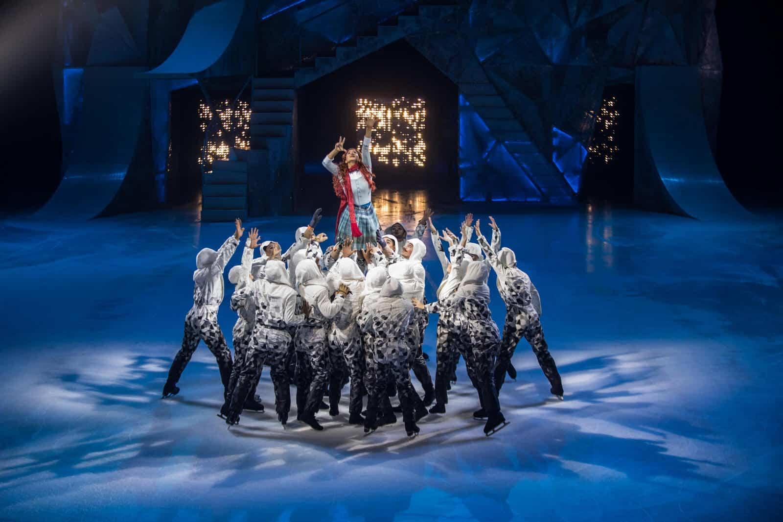 Ледовое шоу Cirque Du Soleil. Crystal