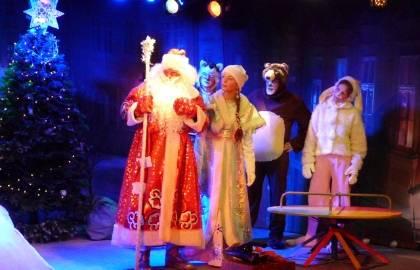 Новогоднее представление Волшебная ночь, или Когда оживают игрушки